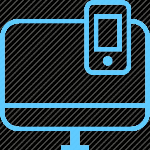 display, full, mobile, monitor, responsive, retina icon