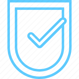 done, safe, secure, security, shield icon
