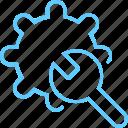 alogorithm, format, plus, screw, settings icon