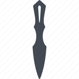 bayonet, cold warms, iron, steel arms icon
