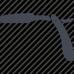 blade, cold warms, razor, straight razor icon