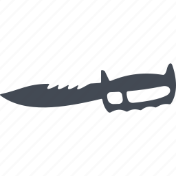 blade, cold warms, crime weapon, lever, steel arms icon