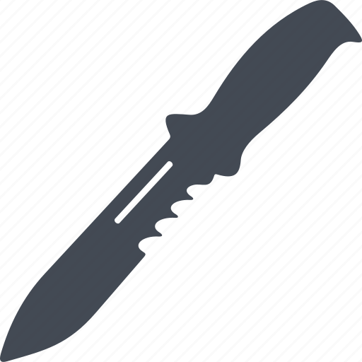blade, cold warms, knife, steel arms, weapon icon