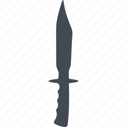 blade, cold warms, knife, steel arms icon