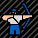 archery, archer, sport, athlete, weapon