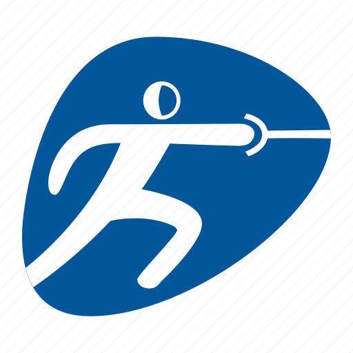fencing, games, olympic, rio2016, sport, sword icon