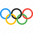games, olympic, rings, rio2016, sport icon
