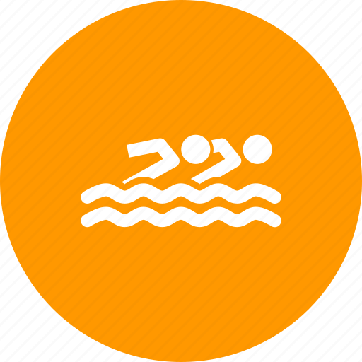 aquatics, games, olympics, sports, swimming, synchronised, water icon