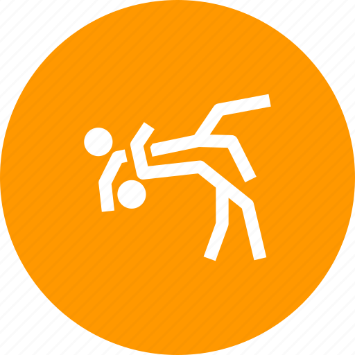 Fight, games, judo, olympics, sports, wrestling icon - Download on Iconfinder