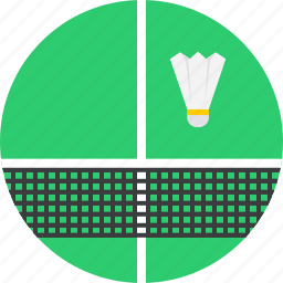 badminton, game, olympics, shuttlecock, sports icon