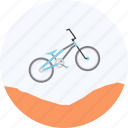 adventure, bicycle, bike, bmx, motocross, olympics, sports icon