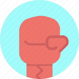 boxing, fight, glove, hit, mitten, olympics, punch icon