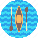 canoe, games, olympics, rowing, slalom, sports, sprint icon