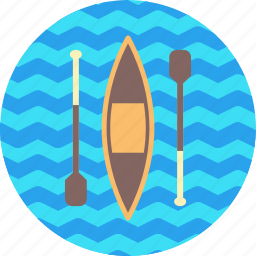 canoe, games, olympics, rowing, slalom, sports, sprint icon