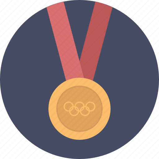 bronze, gold, medal, olympics, silver, sports, winner icon