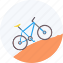adventure, bicycle, cycling, mountain, olympics, ride, sports icon
