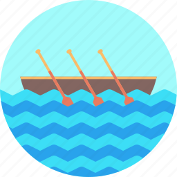 beach, boating, olympics, rowing, sailing, sports, water icon