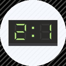 digital, display, game, goal, score, scorecard, sports icon