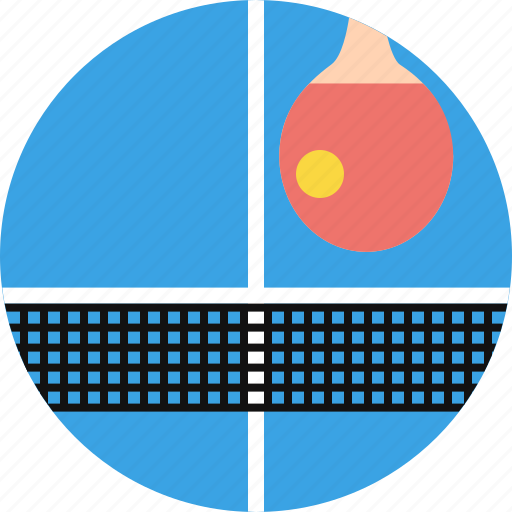 Olympics, game, ping pong, table tennis, pinpong, paddle, net icon - Download on Iconfinder