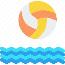 beach, game, olympics, polo, sports, volleyball, watersports icon