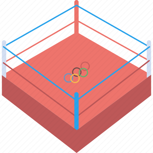 boxing, fight, game, match, ring, sports, wrestling icon