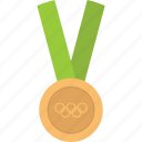 gold, medal, olympics, winner icon