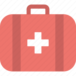 aid, first, healthcare, hospital, medicine, medikit icon
