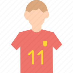 game, jersey, olympics, player, soccer, sports icon