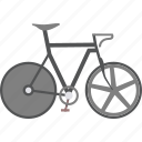 bicycle, cycling, olympics, track icon