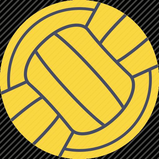 aquatics, ball, game, polo, pool, sports, water icon