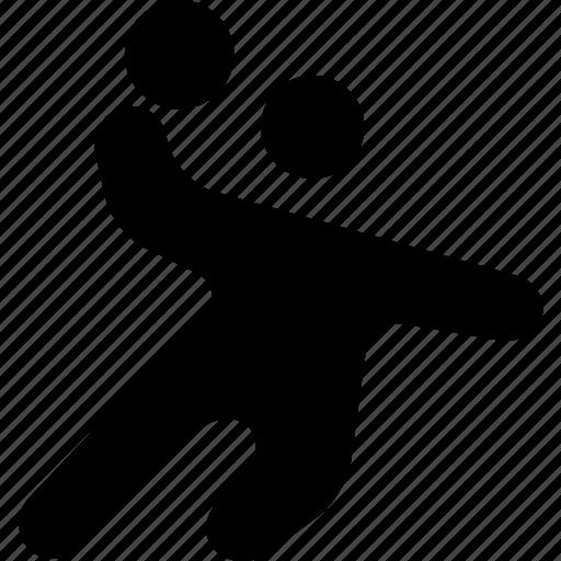 activity, handball, olympic, play, sport icon