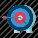 archery, arrow, target