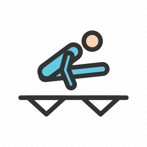 athletics, games, hurdle, kayak, olympics, tennis, track icon