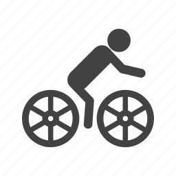bike, cycling, games, indoor, olympic, race, sports icon