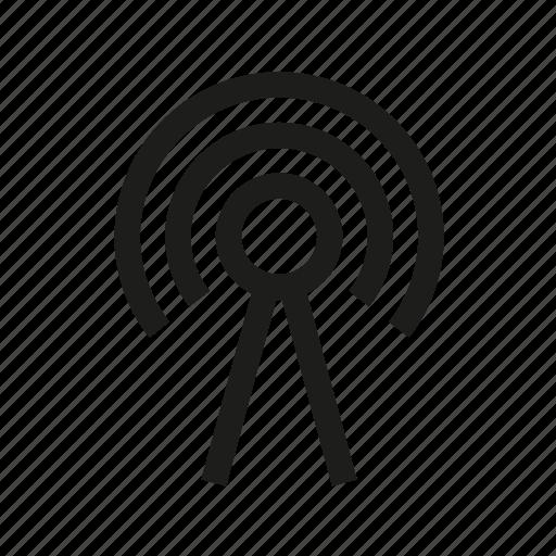 antenna, signal, tower icon