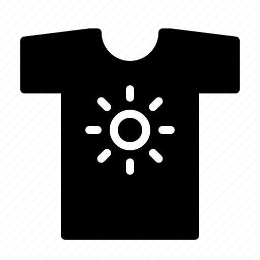 cary, holiday, shirt, shoping, summer, sun icon