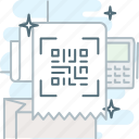 code, coding, qr, qrcode, receipt, scan
