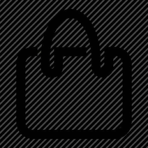 bag, buy, oneline, portfolio, purchase, purse, shopping icon
