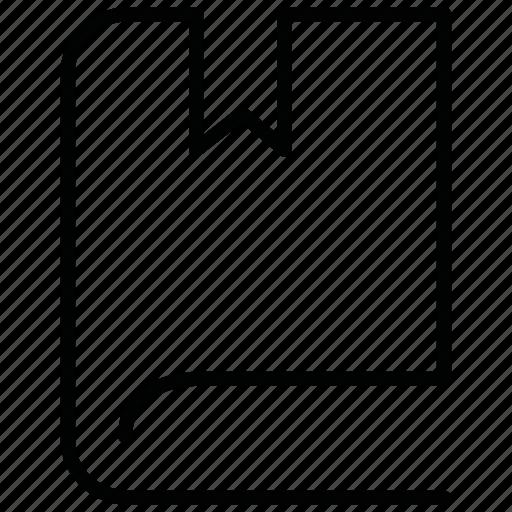 bast, book, hardback icon