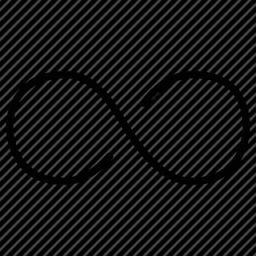 endless, infinite, infinity, innumerable icon