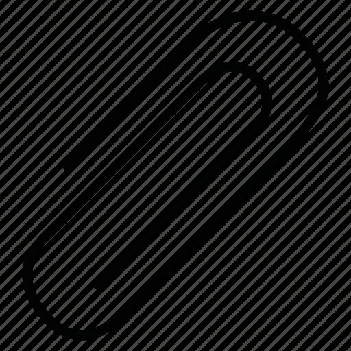 clamp, clip, paperclip icon
