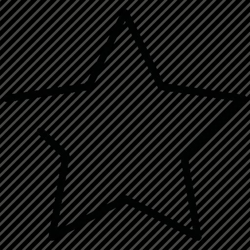 night, star icon