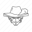 anime, dracule mihawk, hawk eye, mihawk, seven warlords, shichibukai, zorro icon