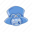 anime, cartoons, fictional character, one piece, pirate, pirate commander, sabo icon