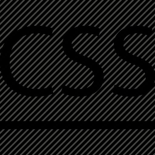 business, css, development, line, web icon