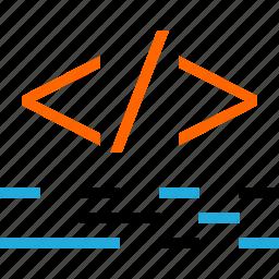 business, code, development, language, web icon