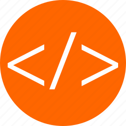 business, code, development, script, web icon