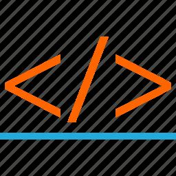 code, development, online, script, web icon
