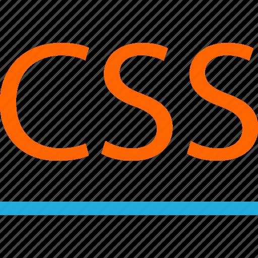 business, code, css, development, line, web icon