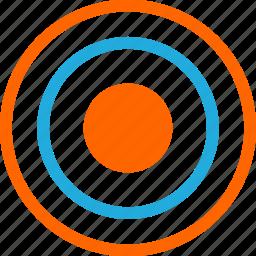 business, development, eye, goal, web icon